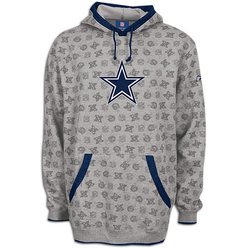Dallas Cowboys Reebok Loud   Proud Fleece Hooded Sweatshirt Size 2XL Adult  NFL Authentic  Amazon.ca  Sports   Outdoors 91f9c6e95