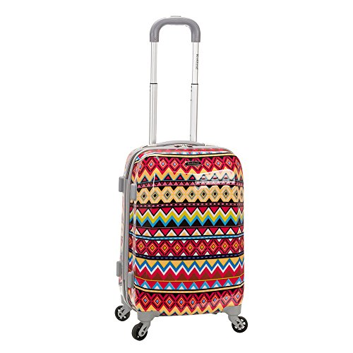 Rockland 20 Inch Polycarbonate Carry On, Tribal For Sale