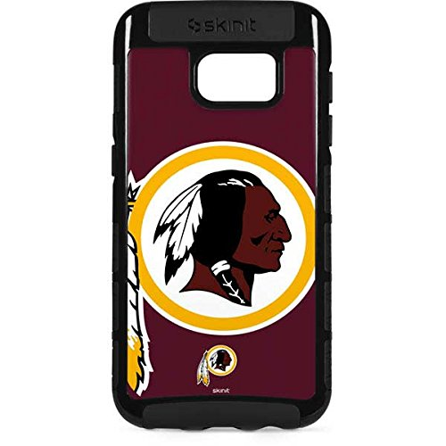(Skinit NFL Washington Redskins Galaxy S7 Edge Cargo Case - Washington Redskins Large Logo Design - Durable Double Layer Phone Cover)