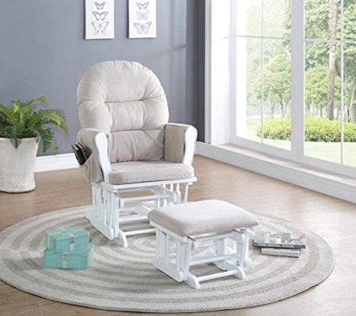 Best Prices! Naomi Home Brisbane Glider & Ottoman Set