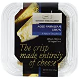 The Kitchen Table Bakers Gourmet Cheese Crackers, Aged Parmesan, 85g