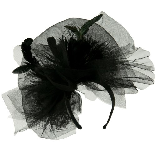 Tulle Couture Fascinator -...