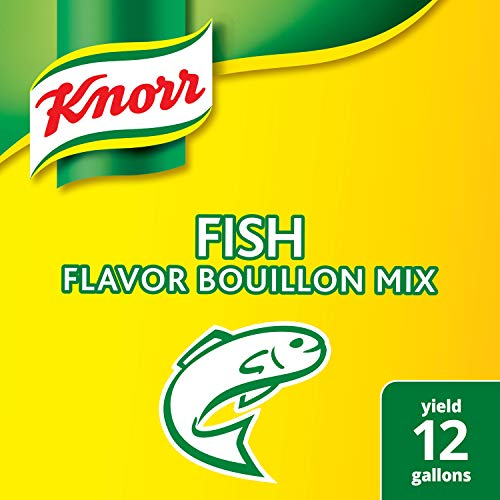 (Knorr Professional Fish Bouillon Base Mix Gluten Free, No added MSG, 0g Trans Fat, 1.99 lbs, Pack of 6)