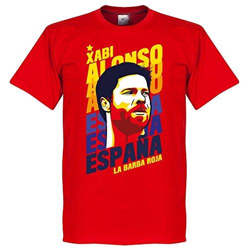 Xabi Alonso Portrait T-shirt - rot