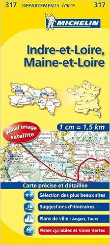 Téléchargement gratuit de livres audio en anglais Carte DPARTEMENTS Indre-et-Loire, Maine-et-Loire 2067132601 in French PDF RTF
