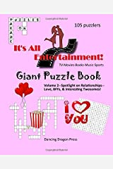 Giant Puzzle Book: TV-Movies-Books-Music-Sports (It's All Entertainment!) Paperback