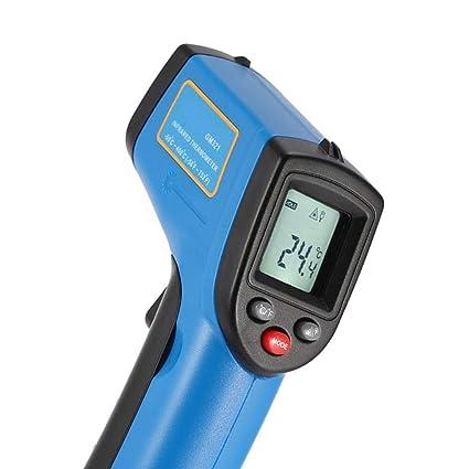 Sin contacto digital termómetro infrarrojo -50 a 400 grados Gama probador de herramientas de medición