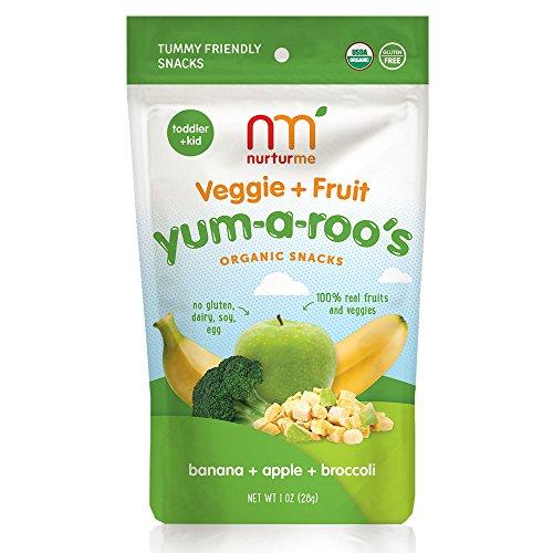 NurturMe Yum-A-Roo's Organic Toddler Snacks