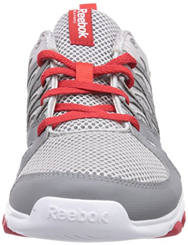 Train Reebok Grau Rush Mixte Sublite Adulte Fitness 2 Grey Rs white flat red steel 0 Gris TTrqw5C1