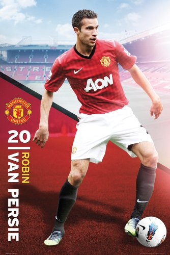 Manchester United- RVP, Robin Van Persie Poster 2013 | Closeout!