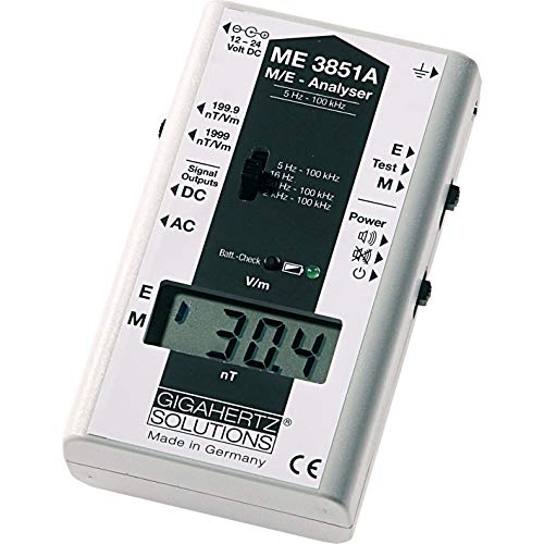 ME3851A Professional EMF Meter 5Hz – 100kHz with Frequency Filter