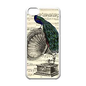 Gramophone Dictionary Art iPhone 5c Cell Phone Case White R3349787