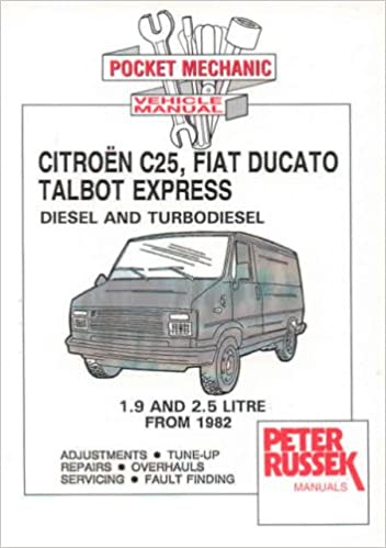 Surprising Citroen C25 Fiat Ducato Talbot Express Diesel Td Workshop Repair Wiring 101 Capemaxxcnl