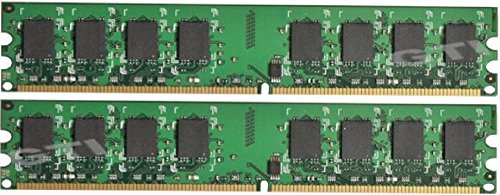 (Memory Master 4 GB (2 x 2GB) DDR2 800 MHz PC2-6400 Desktop DIMM Memory Modules MMD4096KD2-800)