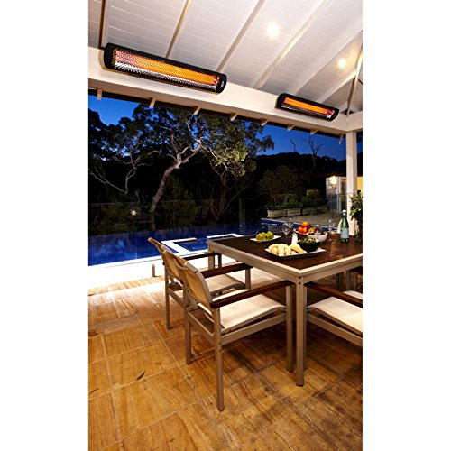 Bromic Tungsten Smart Radiant Infrared Electric Patio