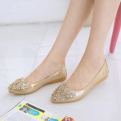 25490a1a8 Meeshine Women s Wedding Flats Comfort Ballet Flats Shoes