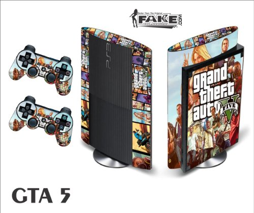 Price comparison product image PS3 Supper Slim Skin GTA 5