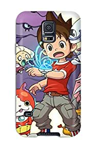 Nannette J. Arroyo's Shop 4288093K27825787 Premium Youkai Watch Capitulo 3 Sub Espa?ol Back Cover Snap On Case For Galaxy S5