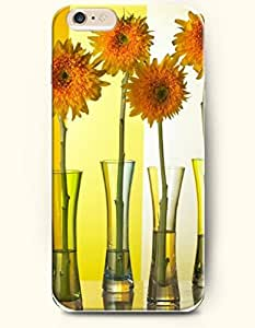 OOFIT iPhone 6 Case ( 4.7 Inches ) - Sunflowers in vases