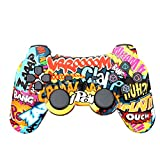 Wireless PS3 Game Controller, Bluetooth Double Shock SIXAXIS Gamepad Joypad Joystick for Sony PS3 PlayStation 3