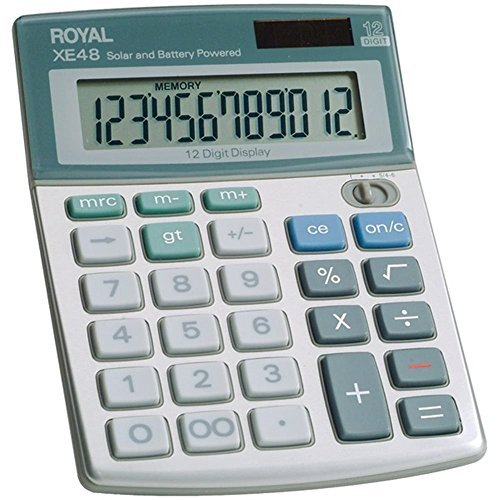 Royal 29306S Compact Desktop Solar Calculator (Desktop Compact Royal)