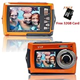 SVP Aqua 5800 Orange (with Micro 32GB) 18 MP Dual Screen Waterproof Digital Camera Review