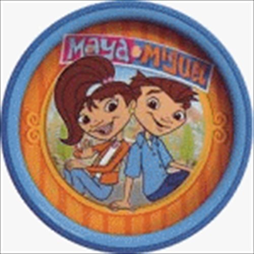 Maya And Miguel Large Paper Plates (8ct)
