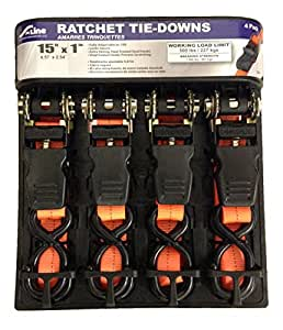 Ancra Manufacturing XB21022P S-Line 10 Mini Cuerdas de amortiguador auxiliar 22 piezas Contenedor