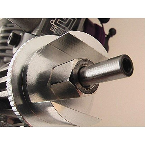 (GPM Racing SAV1100X08 HPI Savage Bi-Directional FlyWheel Only Silver)