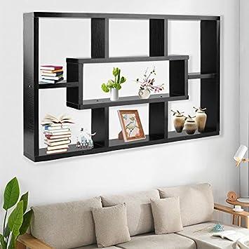 meuble de rangement mural livre de craft cran tagre 8 compartiment sundries rack pour panneaux d