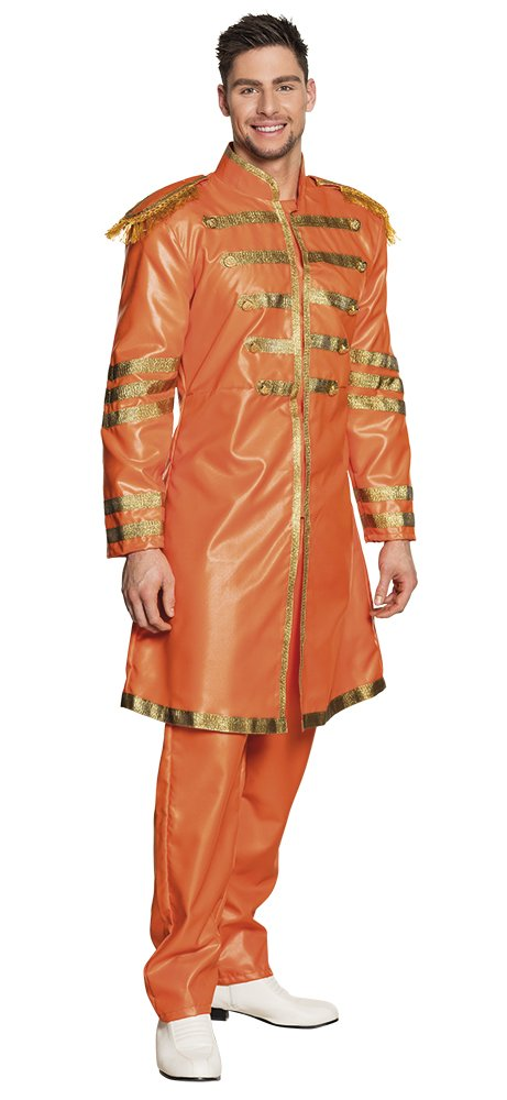 Boland-83684 Costume Adulto Uomo, Arancione, 50 52 83684