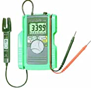 Kyoritsu 2000 Digital Multimeter with AC/DC Open Clamp Sensor, 3400 Counts Bar Graph Display