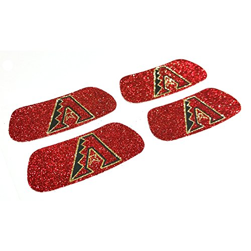 EyeBlack Arizona Diamondbacks MLB Glitter Strips, Perfect for Game Day and Tailgate (4 Pairs/8 Strips)