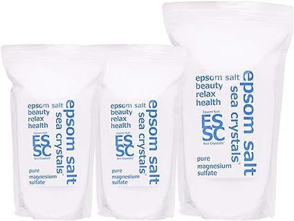 Amazon | 入浴剤 シークリスタルス 国産 エプソムソルト (硫酸 ...