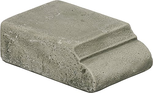 Pedestal Campania Stone Cast - Campania International PD-160-AS Profile Riser, Low, Alpine Stone Finish