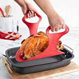 Gr8 Home Reusable Non Stick Silicone Chicken Turkey Meat Lifter Mat Roast Ham Kitchen Tool Gadget