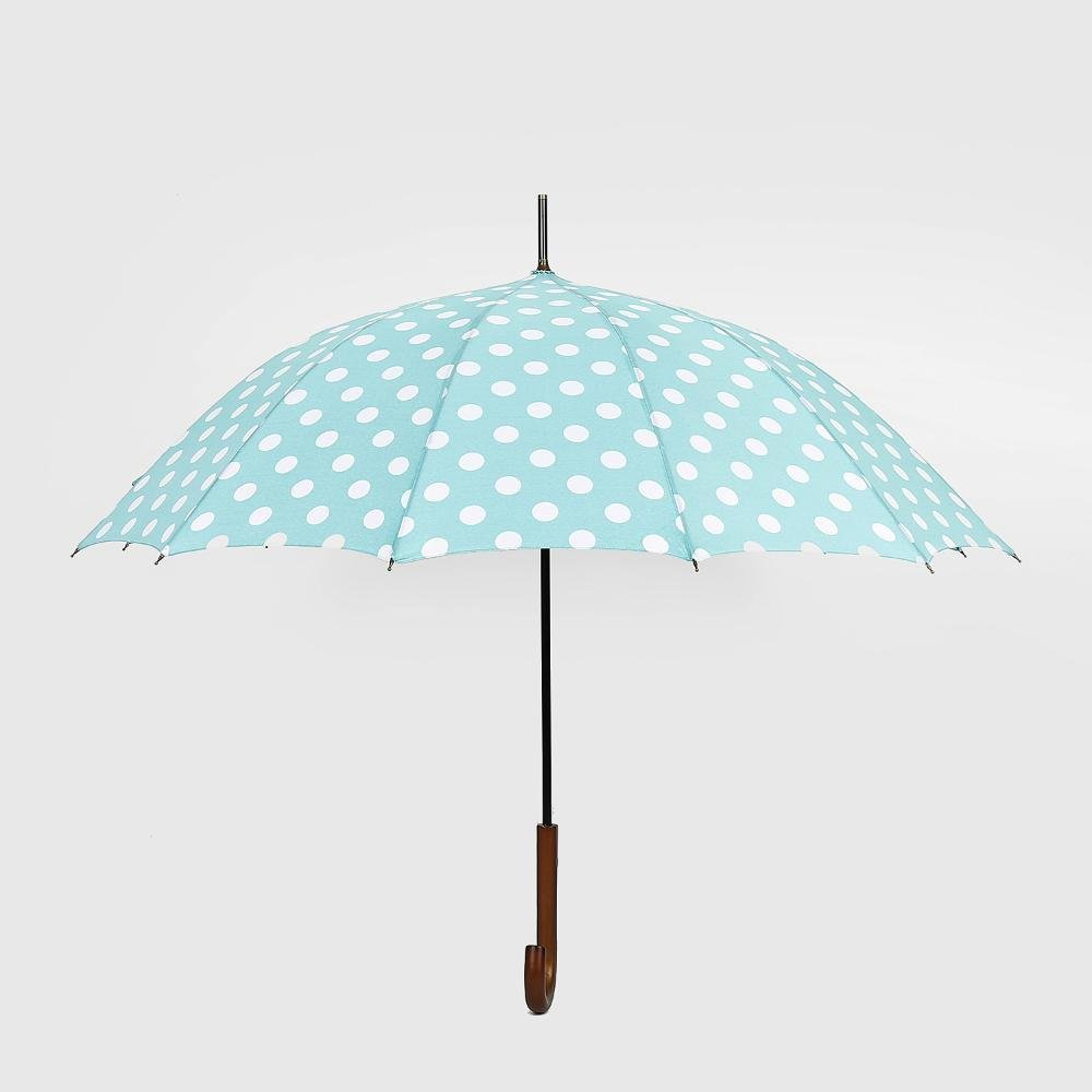biutefang Umbrellas波ポイント傘雨とライトUmbrellas 6933322207441  グリーン-2 B07B3ZY21R