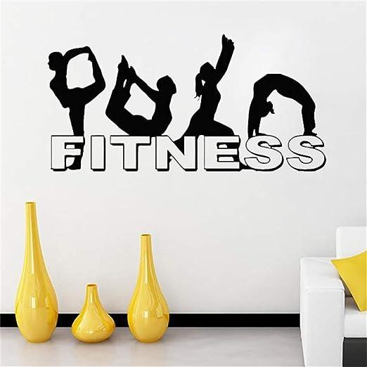 pegatinas de pared tortugas ninja Fitness Chicas Yoga ...