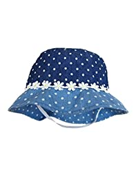 Cotton Bucket Hats Girls Babies Children Cloth Flower Summer Sun Hat Fishermen Hat