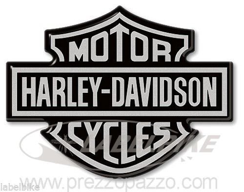 Stickers 3d Crest Logo Tank Compatible Harley Motorcycle