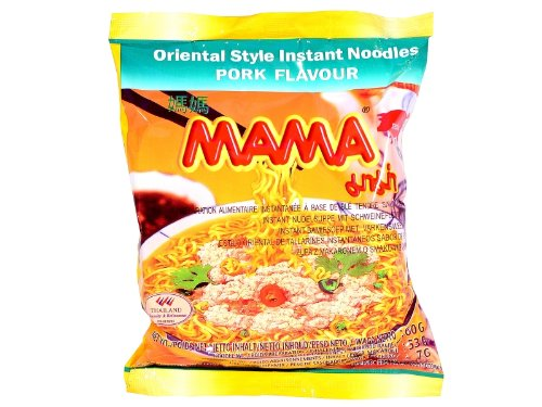 Mama instant noodles pork 60 g by MAMA