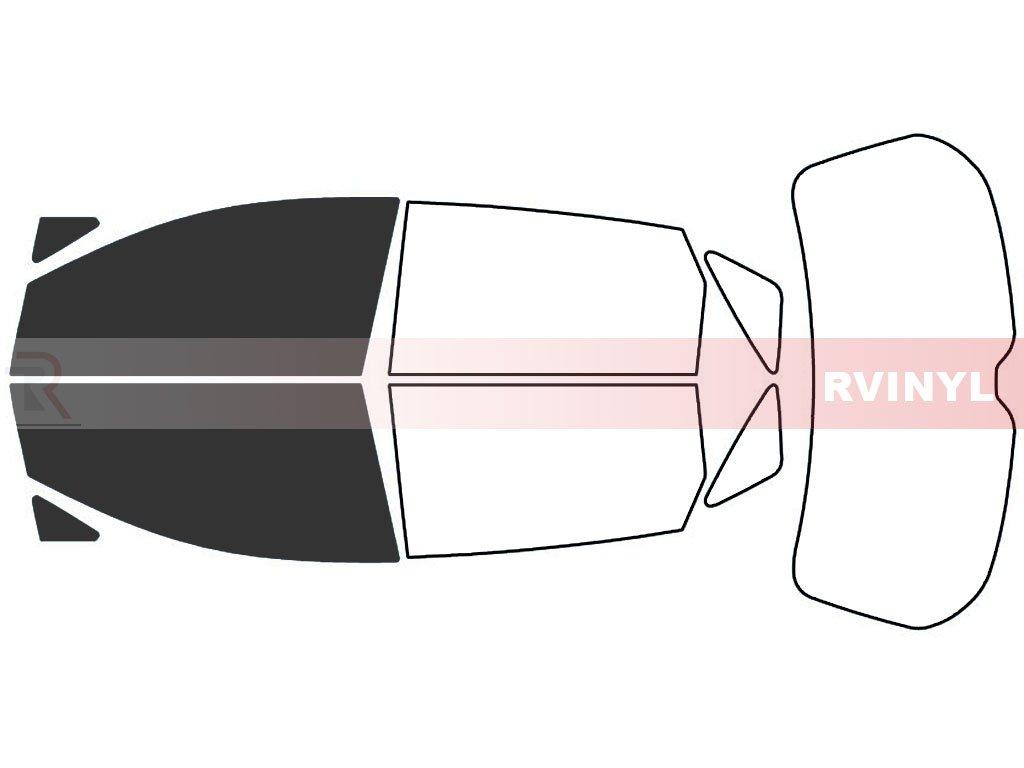 Rtint Window Tint Kit for Toyota Venza 2009-2015 - Front Kit - 20%