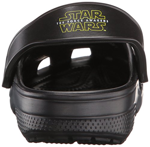 Crocs Classic Star Wars, Zuecos Unisex Adulto Nero (Black)