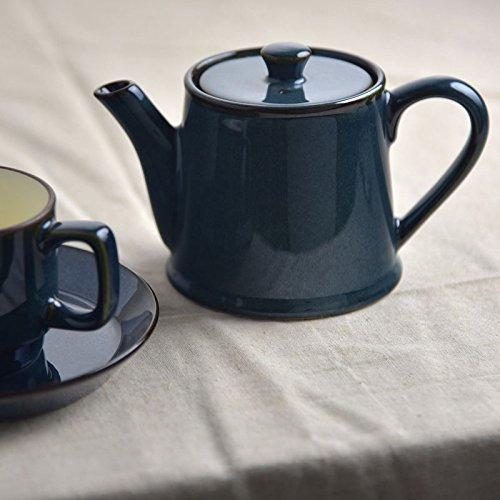 made in Japan Mino ware Scandinavian blue Tea pot(ST type)