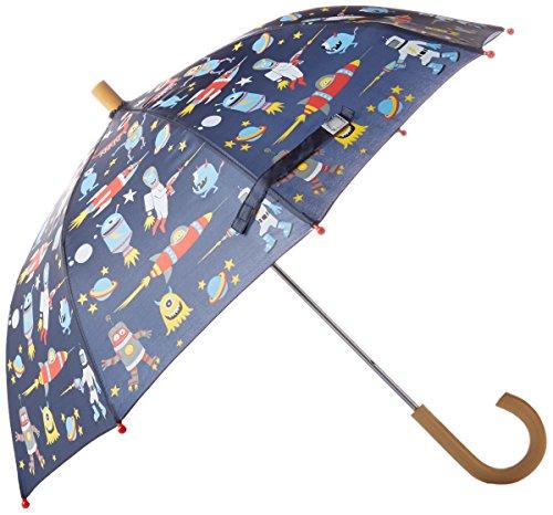 Price comparison product image Hatley Little Boys' Printed Umbrella,  Space Aliens