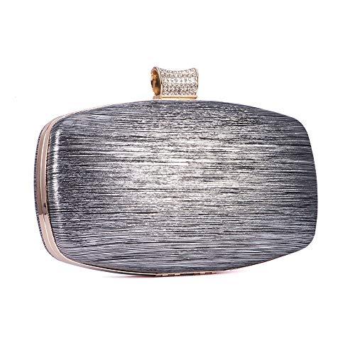 De Sac Pochette Black color Cijfay Silver Silver Soirée Mariée RxECaa5Hwq
