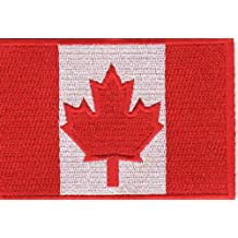 CANADA FLAG Embroidered Canadian Motorcycle MC Club EH Biker Vest Patch PAT-0379
