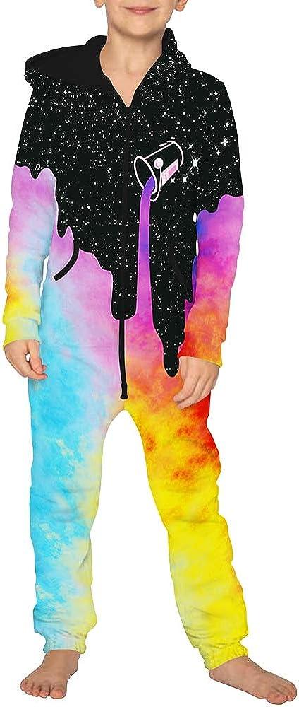 Morbuy Unisex Junge M/ädchen Kapuzenpullover Strampelanzug 3D Creative Printed Onepiece Sweatshirt Strampler Nachtw/äsche Jumpsuit Jogger f/ür die Ganze Familie