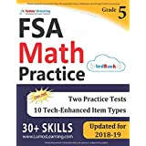 Florida Standards Assessments Prep: 5th Grade Math Practice Workbook and Full-length Online Assessments: FSA Study Guide