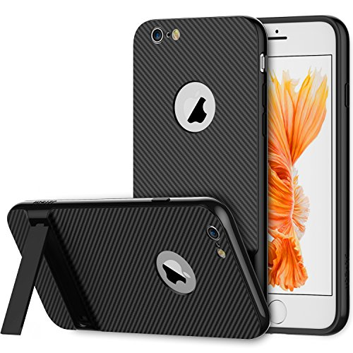 iPhone 6s Case, JETech Slim-Fit iPhone 6 Case with Self Stand for...